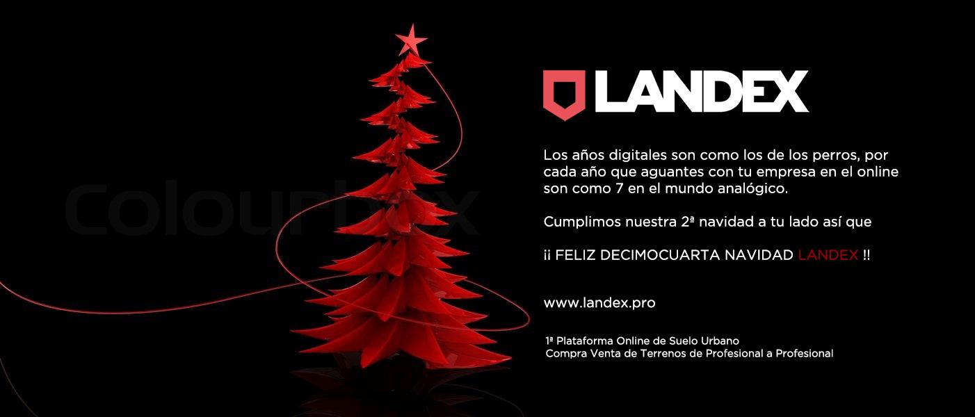 Landex Navidad 2018. Valencia Solares urbanos